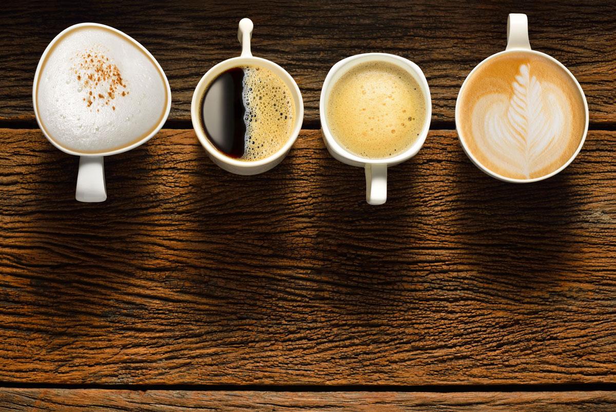 Виды кофейных напитков: ТОП-20 популярных рецептов кофе