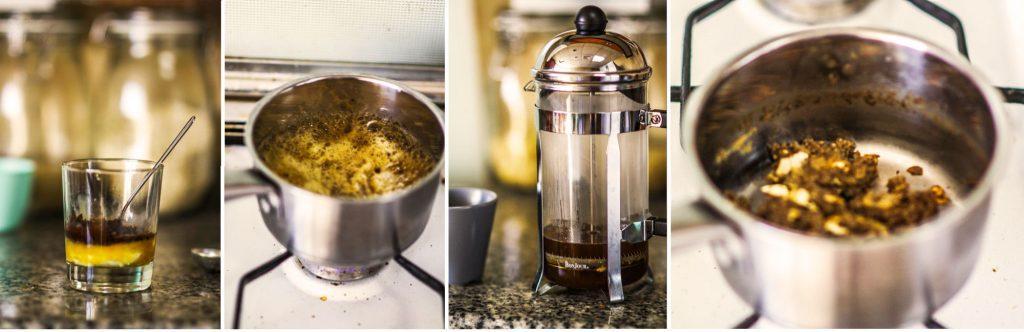 как заварить кофе в кастрюле