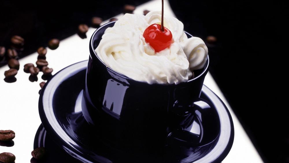 кофе с вишенкой