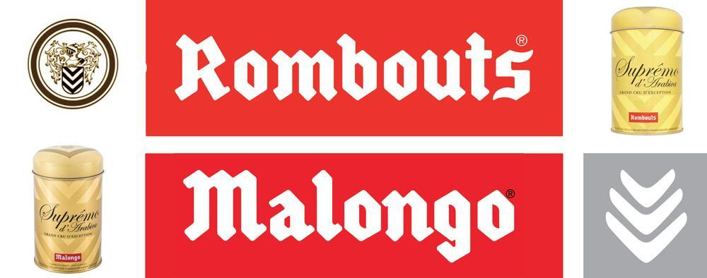 логотипы Малонго и Ромбутс