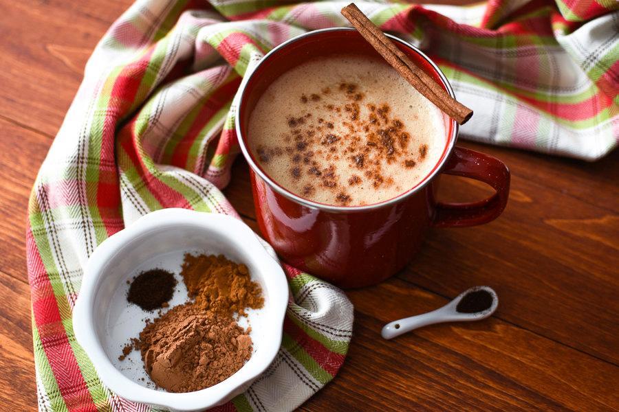 Мексиканский Кофе – Рецепт содержит [Шоколад + Корица + Мускатный орех]