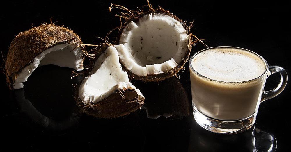 кокосовый лате