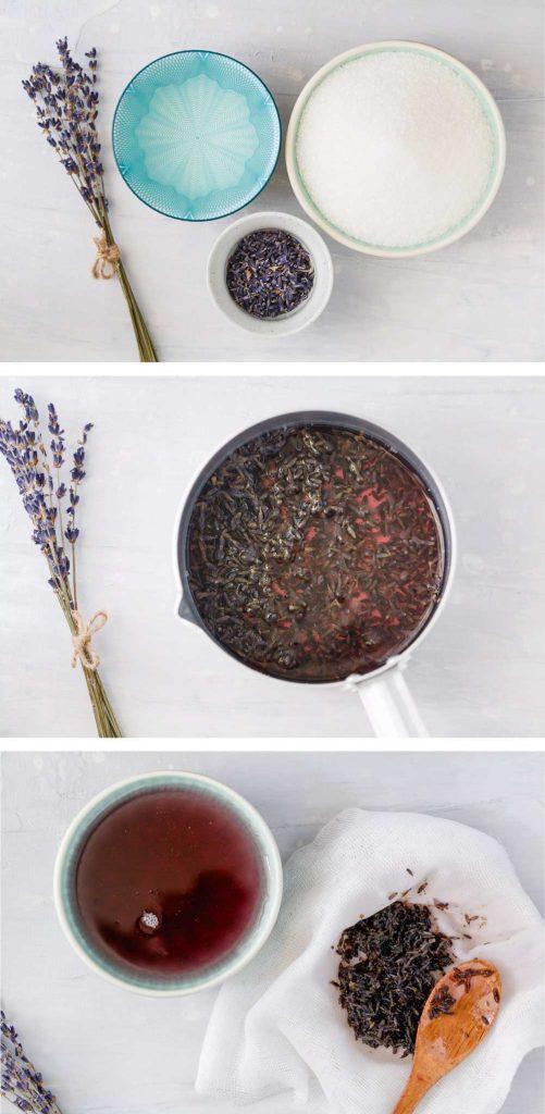 рецепт лавандового сиропа