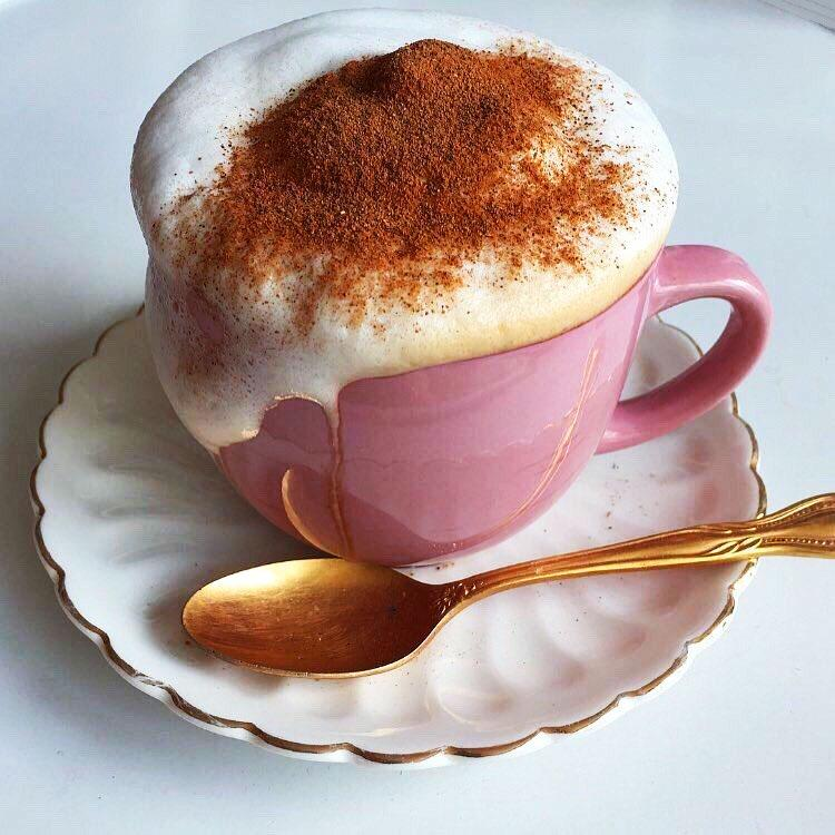 homemade capuccino