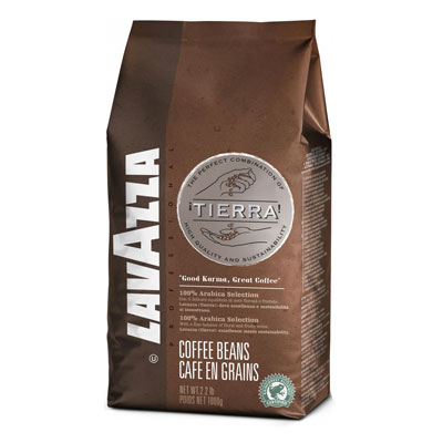 Lavazza Tierra! Selection в зернах 1кг