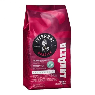 Lavazza Tierra Brazil Extra Intense в зернах 1кг