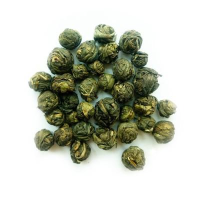 Черный жемчуг зеленый чай 100г