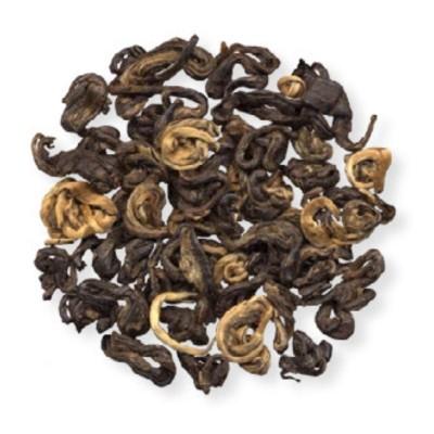 Золотая спираль красный чай 100г