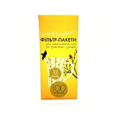 Фильтр-пакет для чайника XXL –100 шт