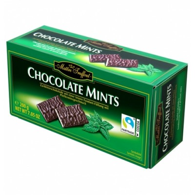 Мятный шоколад Maitre Truffout After Eight 200 г