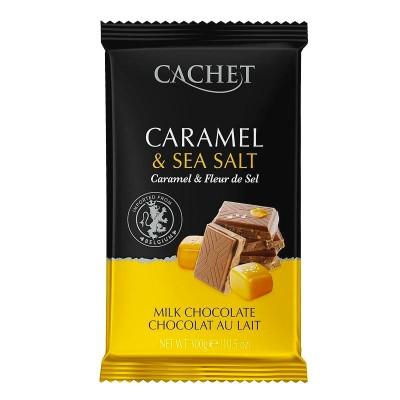 Cachet Молочный с карамелью и солью 32% 300г