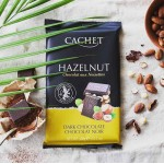 Cachet Черный с лесным орехом 54% 300г
