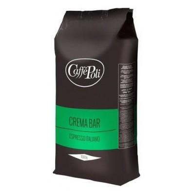 Caffe Poli Crema Bar в зернах 1кг