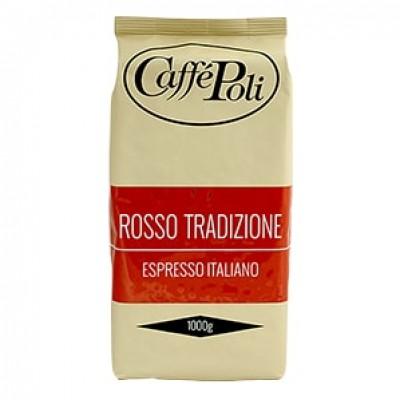 Caffe Poli Rossa Tradizione в зернах 1кг