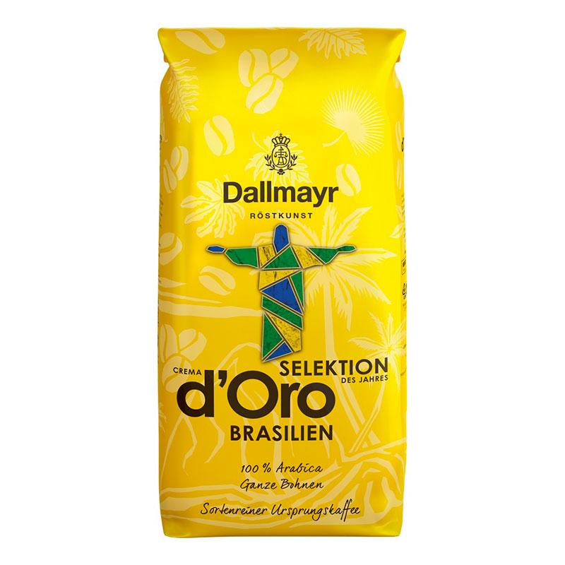 Кофе в зернах 1 кг Dallmayr Crema d'Oro Selektion Brasilien