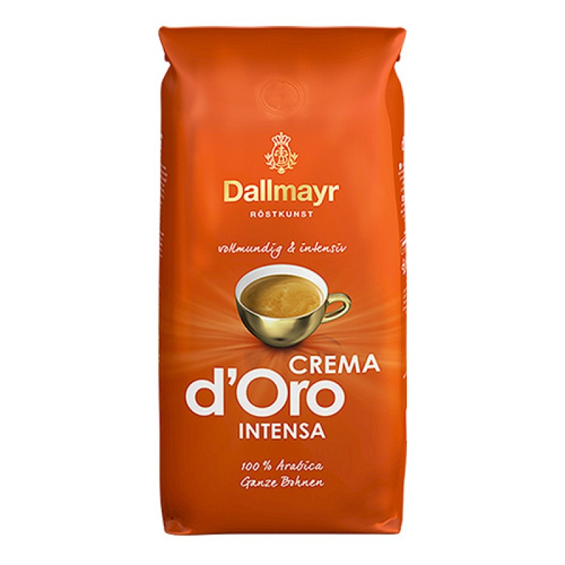 Кофе в зернах 1 кг Dallmayr Crema d'Oro Intensa height=