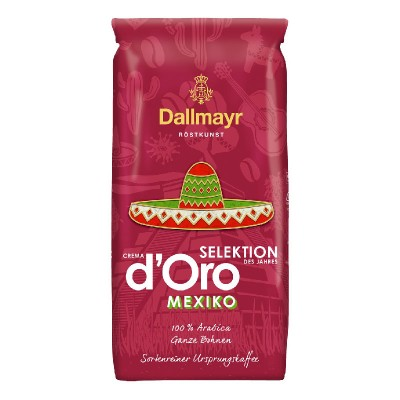 Dallmayr Crema d'Oro Selektion Mexico в зернах 1кг