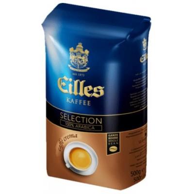 J.J.Darboven EILLES Selection Caffe Crema в зернах 500г