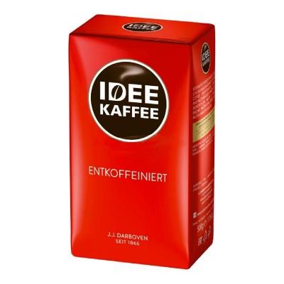 J.J.Darboven IDEE Kaffee Entkoffeiniert без кофеина молотый 500г