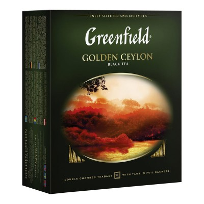 Greenfield Golden Ceylon черный чай 100шт