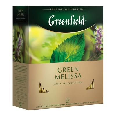 Greenfield Green Melissa зеленый чай 100шт