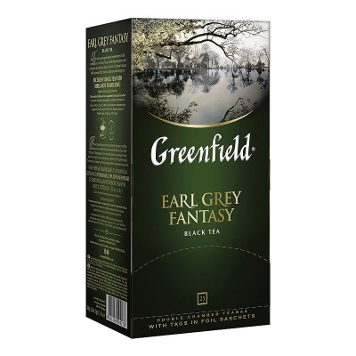 Greenfield Earl Grey Fantasy черный чай 25шт