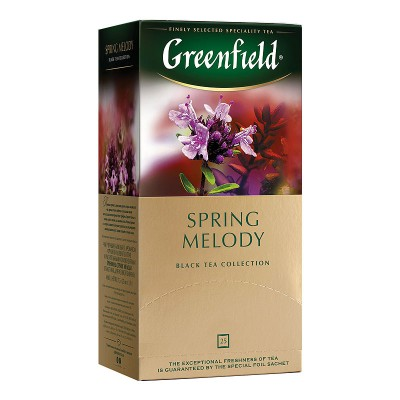 Greenfield Spring Melody черный чай 25шт