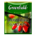 Greenfield Barberry Garden черный чай 100шт
