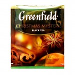 Greenfield Christmas Mystery черный чай 25шт