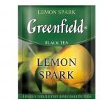 Greenfield Lemon Spark черный чай 25шт