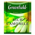 Greenfield Rich Camomile травяной чай 100шт