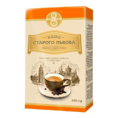 Кава Старого Львова Сниданкова молотый 250г