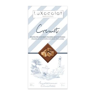 Молочный шоколад LuXocolat Cremat 85г