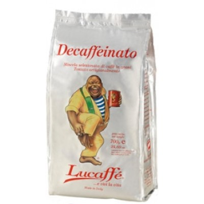 Lucaffe Decaffeinato в зернах 700г