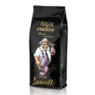 Lucaffe Mr.Exclusive 100% Arabica в зернах 1кг