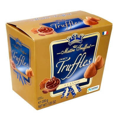 Шоколадный трюфель Maitre Truffout Truffles Classic 200г