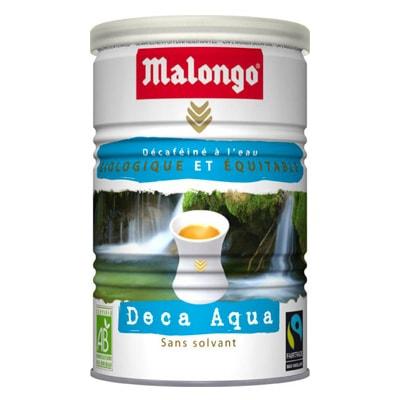 Кофе Malongo Decaffeinated Deca Aqua молотый 250г height=