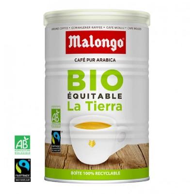 Malongo La Tierra Bio Arabica молотый 250г