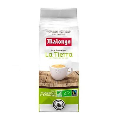 Malongo La Tierra Bio Arabica в зернах 1кг