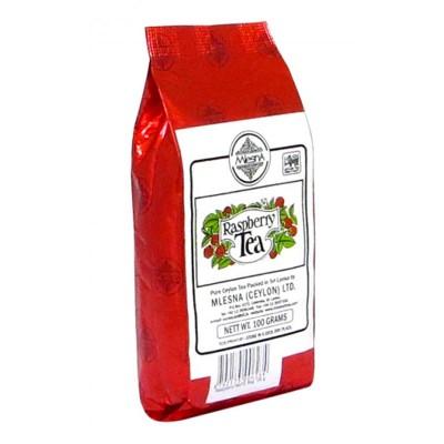 Mlesna Малина черный чай 100г