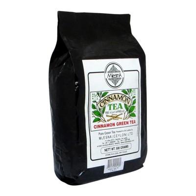 Mlesna Корица зеленый чай 500г