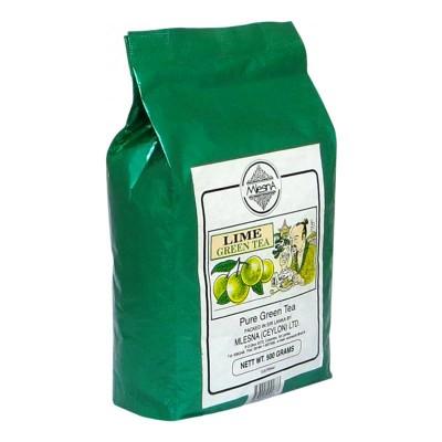 Mlesna Лайм зеленый чай 500г