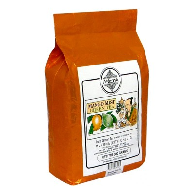 Mlesna Манго Мист зеленый чай 500г
