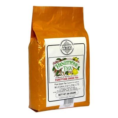 Mlesna Панеттон зеленый чай 500г