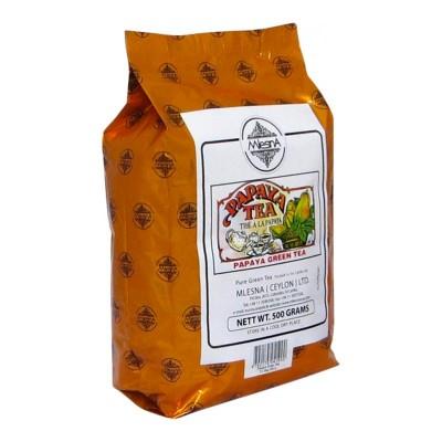 Mlesna Папайя зеленый чай 500г