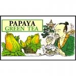 Mlesna Папайя зеленый чай 100г