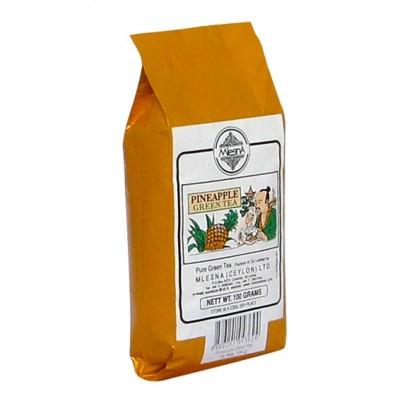 Mlesna Ананас зеленый чай 100г