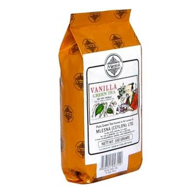 Mlesna Ваниль зеленый чай 100г
