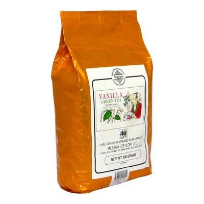 Mlesna Ваниль зеленый чай 500г