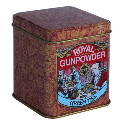 Mlesna Royal Gunpowder зеленый чай ж/б 100г